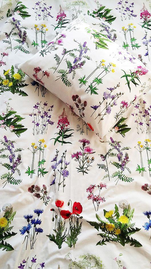Dwustronna Posciel Kwiaty Polne 100 Bawelna Pakamera Pl Diy And Crafts Crafts Diy