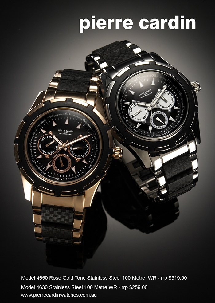 Rugged & reliable pierre cardin men's watches