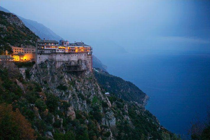 Mount Athos Monastery, Greece