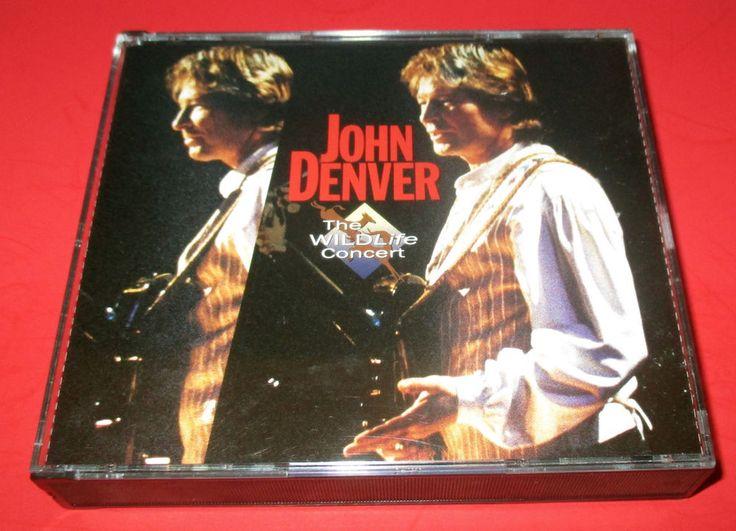 The Wildlife Concert by John Denver (CD, Jun-1995, 2 Discs, Legacy) Country Rock #jondenver #TheWiildlifeconcert #rock #countryrock #SingerSongwriter #music #musiccd http://www.ebay.com/usr/vinylrockretro