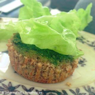 Recept - Saftiga scones på mandel- & sojamjöl