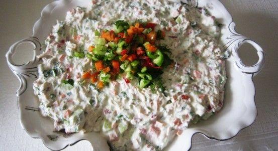 Yoğurtlu Mayonezli Tavuk Salatası Tarifi | Yemek Tarifleri
