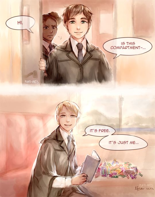 The Cursed Child - Albus and Scorpius by Raven wings - ALBUS: Great. So we might just - come in - for a bit - if that's okay? SCORPIUS: That's okay. Hi.