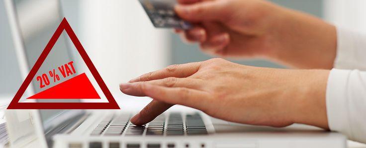 2015: AUMENTO DELL'IVA PER GLI ACQUISTI ONLINE. Cosa comporta per gli sviluppatori web l'aumento dell'IVA?  #IVA   #VAT   #acquisti  #online #shoppingonline #shopping  #sconti   #sale  #web #italia    http://www.ribo.it/pub/2015-aumento-iva-per-gli-acquisti-online
