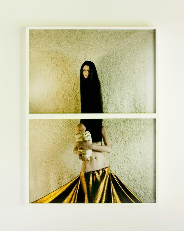 Kensuke Koike - Mother (after all Virgin), 2008, lambda prints, 133 x 100 cm (66,5 x 100 cm each)