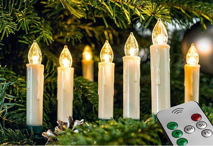 Led Weihnachtsbaum Kerzen 10er Pack Mit Fernbedienung Led