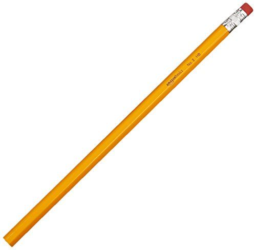 AmazonBasics Wood-cased #2 HB Pencils -  Box of 144