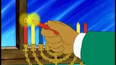 Muffy Learns About Hanukkah