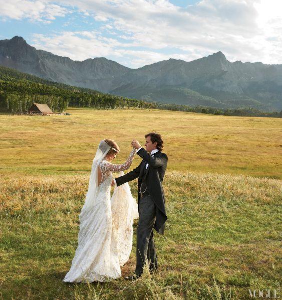 Pictures From Lauren Bush & David Lauren's Western Wedding | StyleCaster