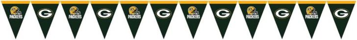 Super Bowl NFL American Football Team Green Bay Packers Plastic Flag Banner, 12' #CreativeConverting #GreenBayPackers