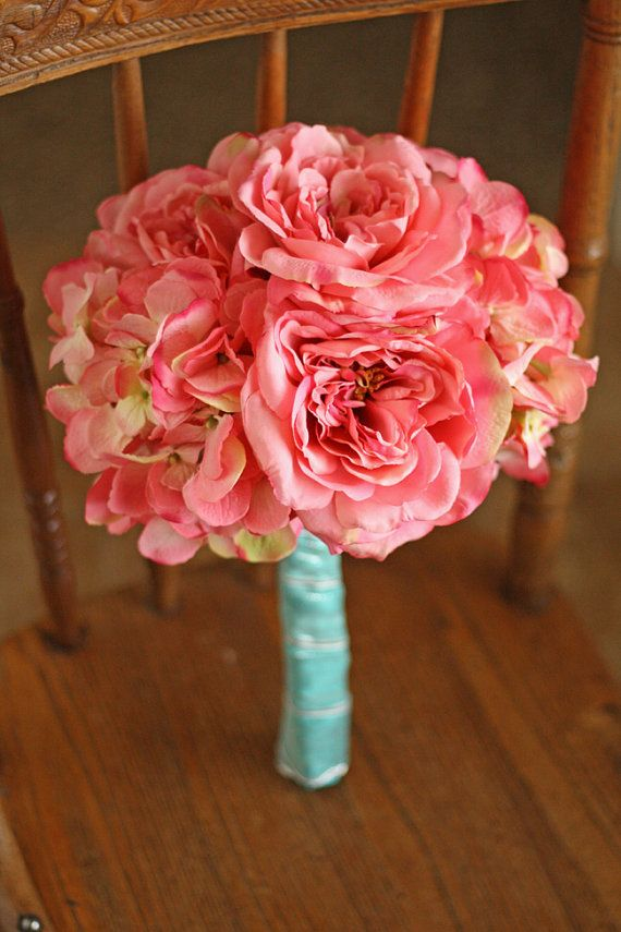 Cotton Candy Pink and Tiffany Blue Wedding by SouthernGirlWeddings, $110.00
