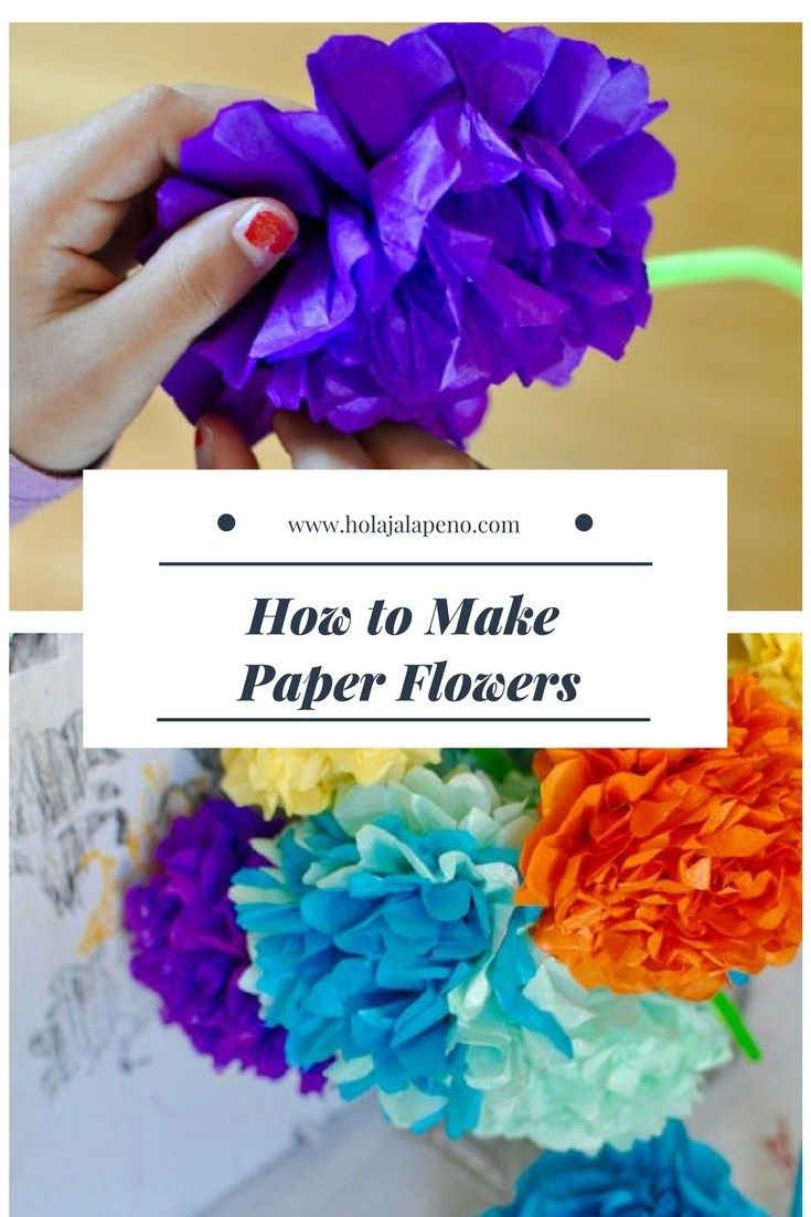 How To Make Paper Flowers For Day Of The Dead Day Of The Dead