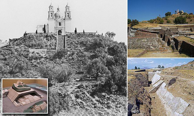 When Hernan Cortez conquered the ancient Aztec city Cholulu in 1915, he built a tiny church on top of a hill. Centuries later, the hill was discovered to be the largest pyramid on Earth.