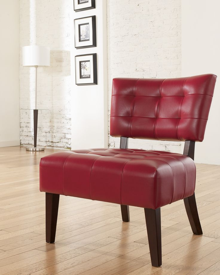 40 best Accent Chairs images on Pinterest Accent chairs, Living - red living room chair