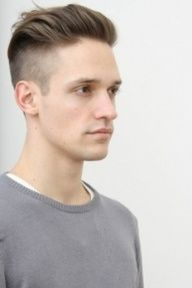 Slicked back undercut - Hairstyle Trends for 2012.