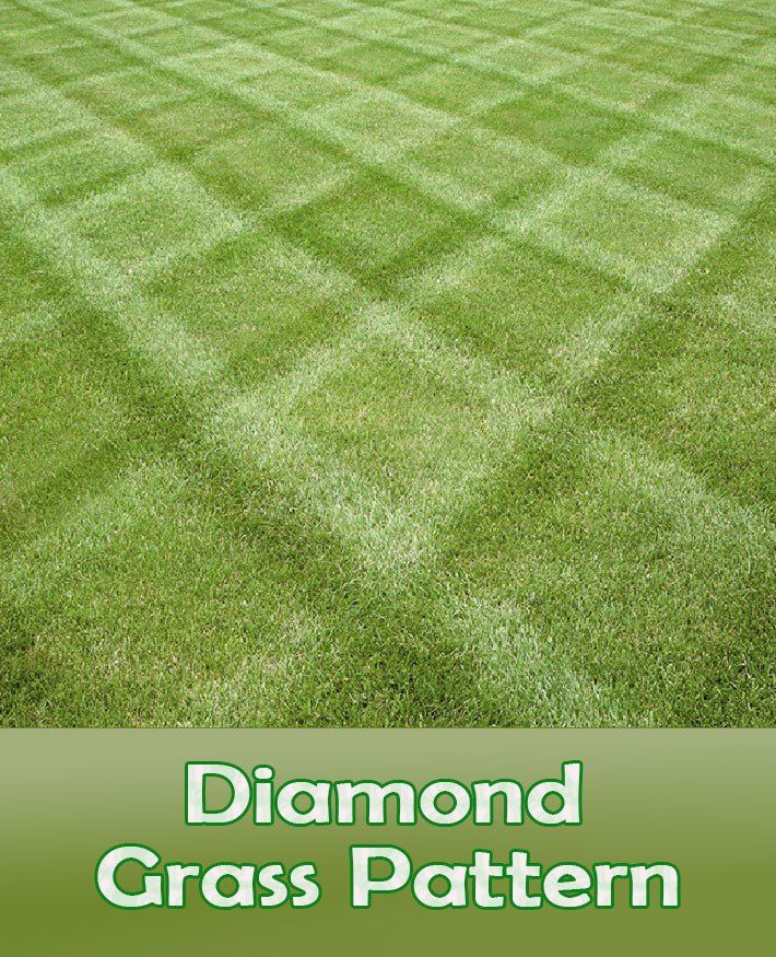 Lawn Mowing Tips How To Mow A Diamond Grass Pattern Grass Pattern Lawn Striping Aerate Lawn
