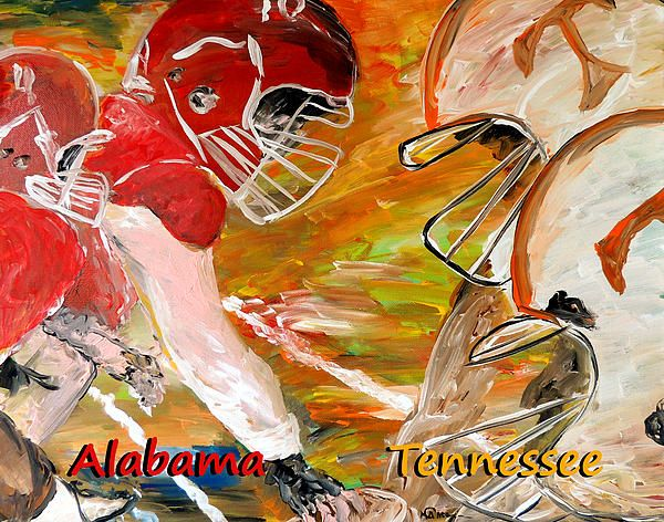 Rivals Face To Face , Alabama vs Tennessee football