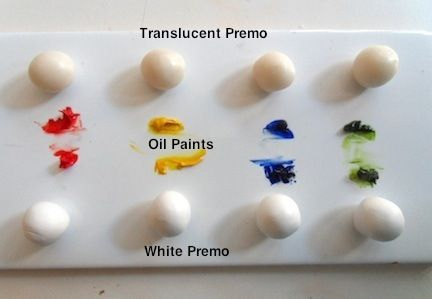 Adding Oil Paint To Polymer Clay, Can Create Your Own Colored Translucent Clay And Colored Clay