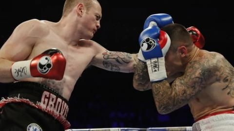 Welcome to sportmasta's Blog.: George Groves wins as Chris Eubank Jr defends titl...