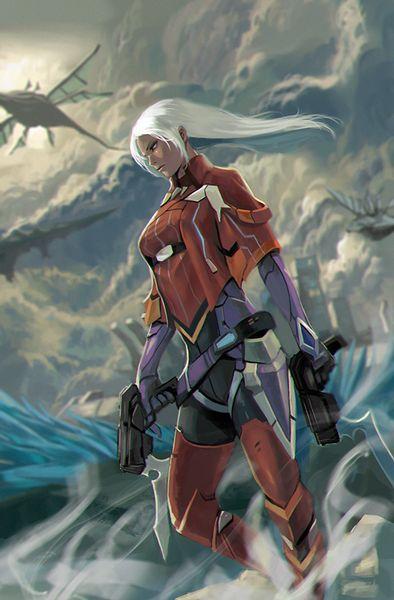 ゼノブレイドクロス - エルマ Elma - Xenoblade Chronicles X by Zoma
