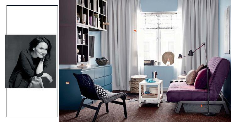 .KARLABY/KARLSKOGA Sofa bed, Ikea PS 2014 table