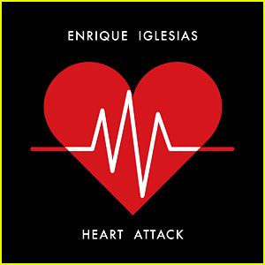 "Enrique Iglesias' hot new song ""Heart Attack"" is this week's pick for JustJared.com and KIIS-FM 102.7's JJ Music Monday."