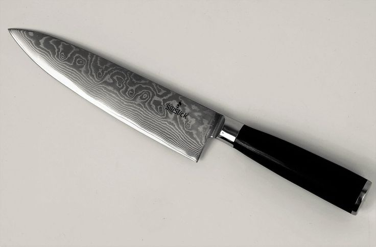 Silislick Damascus Steel Chef S Knife Classic Waves Kitchen Knife Knife Kitchen Knives Chef Knife