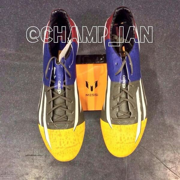 Messi champions league boots nice