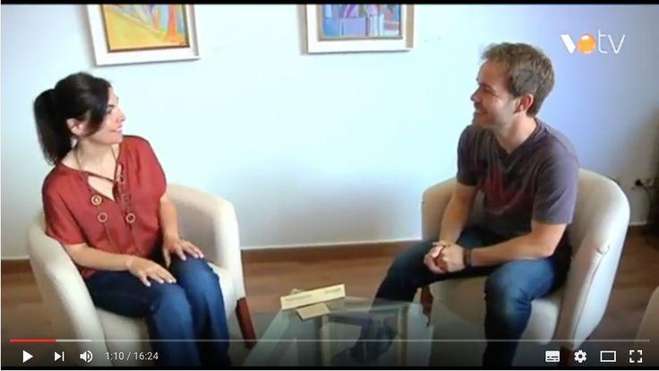 "Momento VOTV. Entrevista a Cristina Requena, directora de Artemisia para el programada de televisión ""Perfils"""