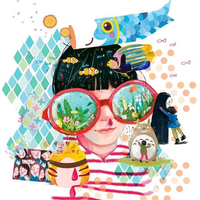 KEBEBASAN IMAJINASI DARI KARYA LIDIA PUSPITA | ARTFORIA.COM  Digital Art Jepang – Lidia Puspita, wanita yang satu ini adalah seorang Illustrator asal Jakarta yang penuh dengan keceriaan dan imajinatif.  Saat ini dia bekerja sebagai Graphic Designer di perusahaan swasta dan seorang Illustrator di malam harinya. Diwaktu senggang dia biasanya menonton film, membaca komik atau hunting buku cerita anak vintage. Semasa kecil Lidia selalu menghabiskan waktu untuk membaca komik, sampai suatu saat…