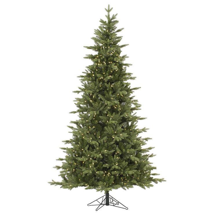 "Vickerman 6.5' x 45"" Fresh Balsam Fir Tree with 450 Warm White LED Lights"