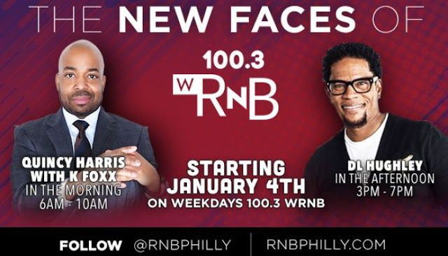 The New Faces Are Quincy Harris With K Foxx Mornings And D L