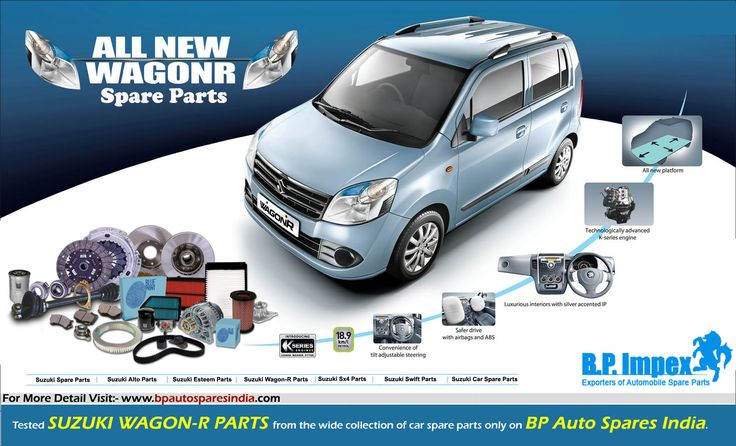 Find safe and factory tested Suzuki Wagon-R Parts from the wide collection of car spare parts only on BP Auto Spares India. The company is the most trusted place you can find online for quality and high-end Suzuki car parts for all Suzuki Wagon-R variants in India.