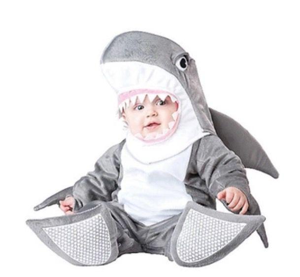 Baby kostuum Haai