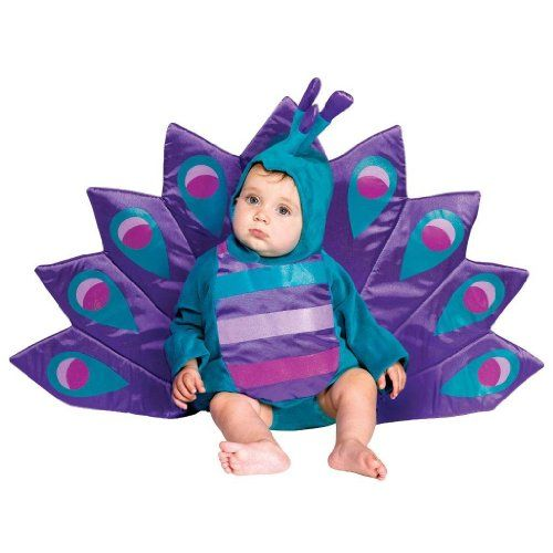 Baby Peacock Costume Fits Child Wearing 618 Month