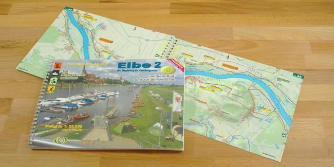 TourenAtlas TA8 - Elbe 2 - Magdeburg bis Hamburg