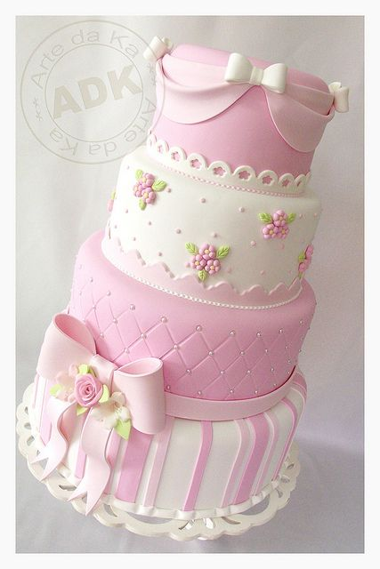 Super Cute Baby Shower cake!!!