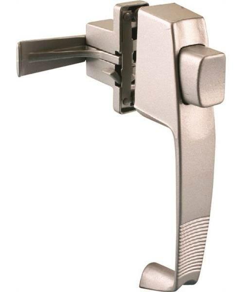 Prosource 47015-U-PS Storm/Screen Door Latches, Push Button, Aluminum