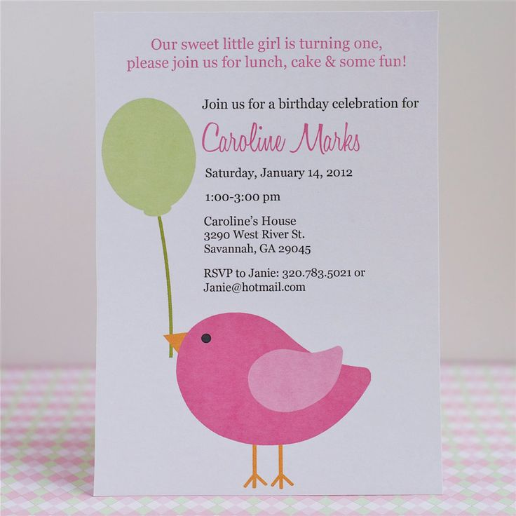 printable horse birthday party invitations free%0A Printable Little Bird Birthday Invite por sproutmyparty en Etsy