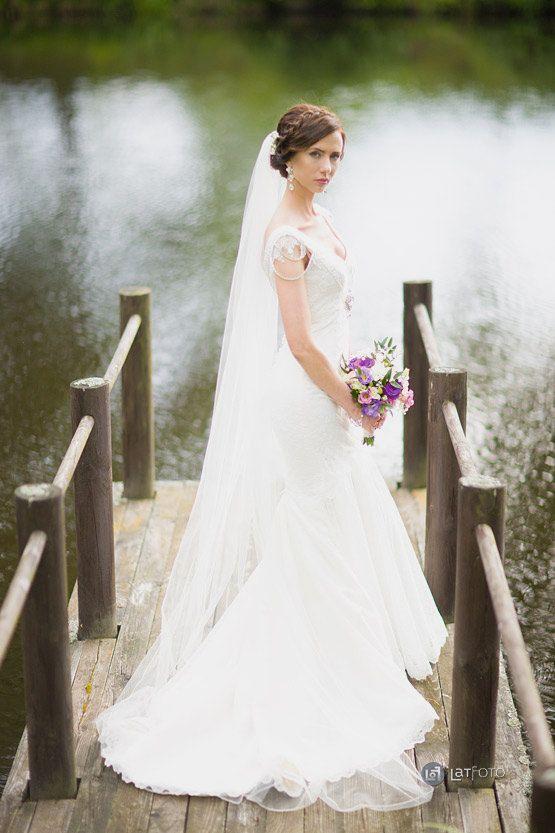 Chapel length veil, Single tier Ivory veil, Ivory long veil, Embellished veil, 98 inch veil, ivory wedding veil, single layer veil, ivory