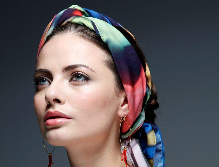 les 32 meilleures images du tableau tuto coiffure foulard sur pinterest