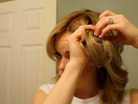 how to french braid the front part of your hair... I can actually do it with this video. HUGE