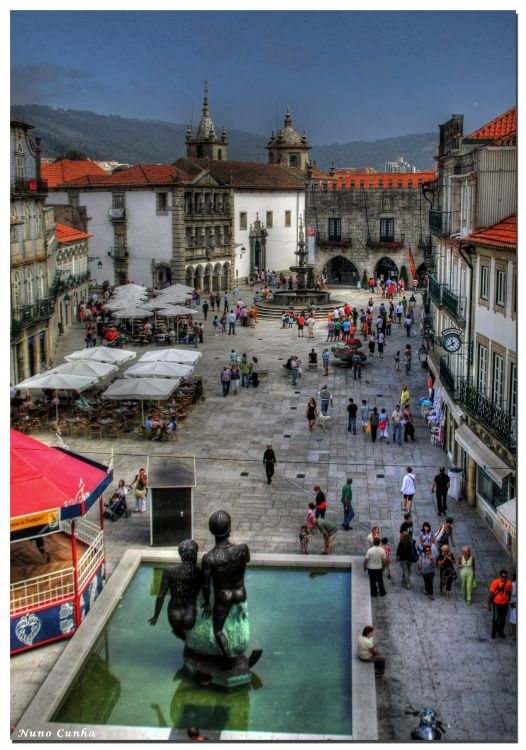 Praça da Republica, Viana do Castelo, Portugal