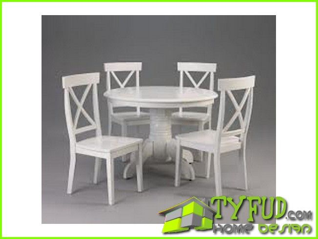 Cool White Round Kitchen Table Set Please Go To My Site Http://tyfud