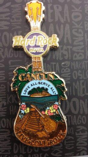 Hard Rock Cafe Cozumel Guitar Magnets
