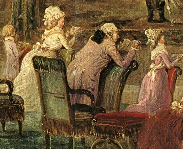 La misa diaria para la Familia Real en las Tullerias