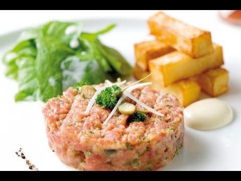 Recept voor steak tartaar met dikke frieten | njam!