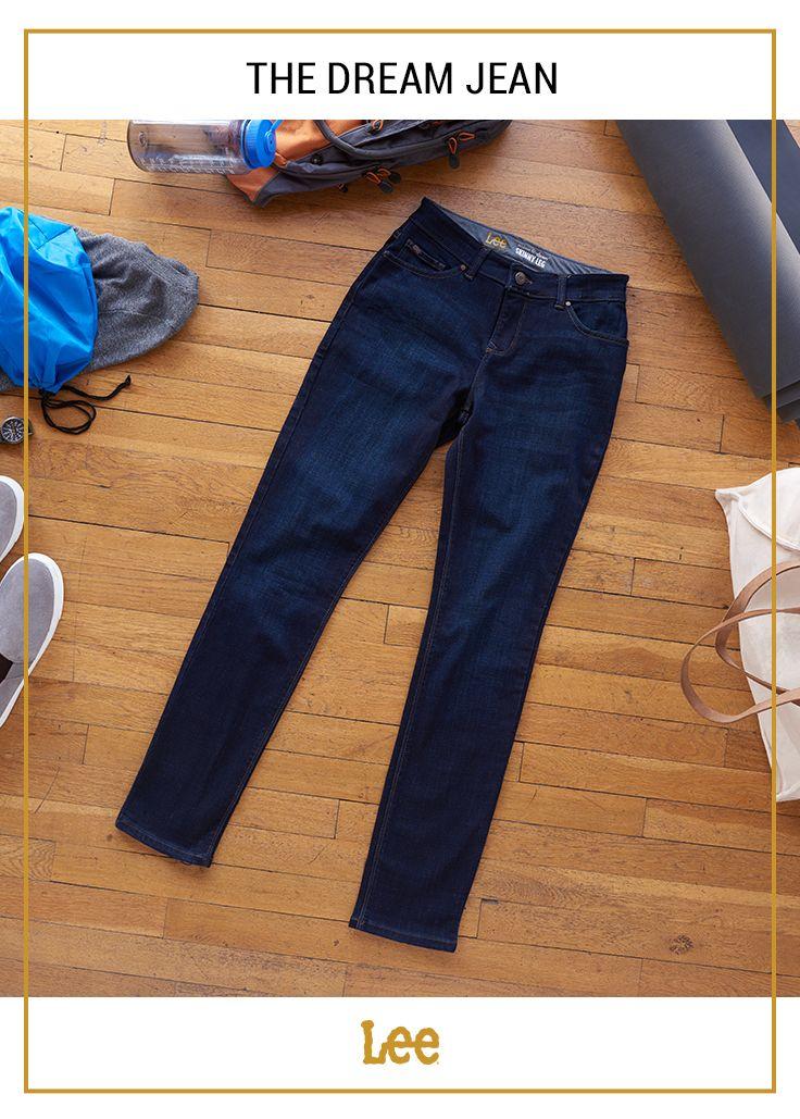 466741db Dream Soft Slim Fit Skinny Leg Jean | Dream Soft Jeans | Lee jeans, Jeans,  Skinny