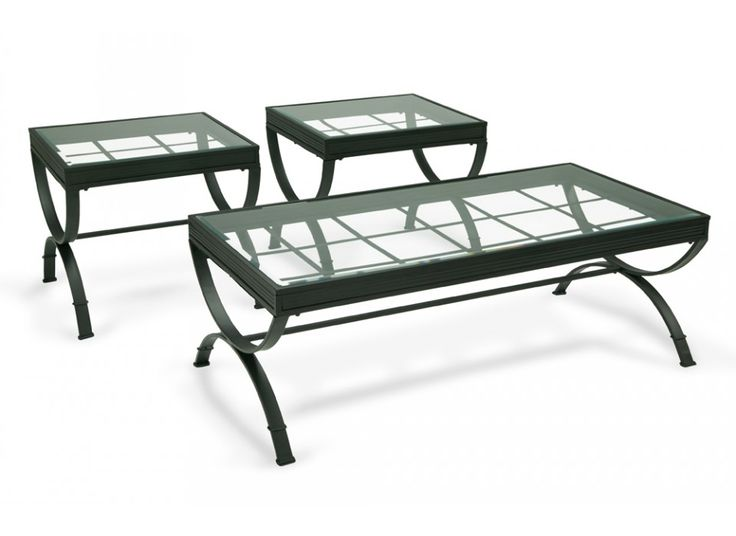 Emerson Black Coffee Table Set | Coffee & End Tables | Living Room | Bob's Discount Furniture