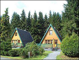 Finnhütten Am Brand, mitten im Wald